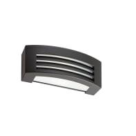 Applique Tosca in alluminio, grigio, E27 MAX60W IP54
