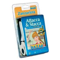 Tela per zanzariera Attacca & Stacca L 150 x H 180 cm nero