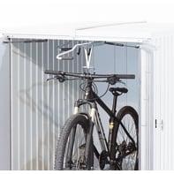Rastrelliera bici da soffitto L 9 x H 3 cm