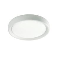Applique Loft LED integrato in plastica, bianco, 18W 1800LM IP65 SOVIL