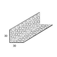 Paraspigolo CIPRIANI Forato 30 x 30 mm 3 m
