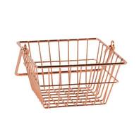 Cesta L 15 x P 14 x H 9.5 cm Jasmine Copper arancio / ramato