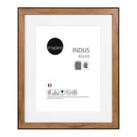 Cornice INSPIRE Indus noce per foto da 30x40 cm