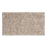 Tappeto bagno rettangolare Speed in cotone beige 55 x 100 cm