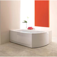 Vasca e telaio Cloe 170 x 70 cm bianco