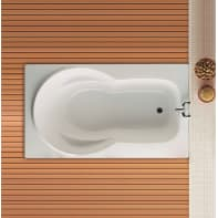 Vasca rettangolare Patricia bianco 105 x 180 cm