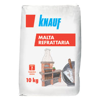 Malta refrattaria KNAUF refrattaria 10 kg 5.05 kg