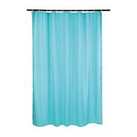 Tenda doccia Happy in poliestere azzurro L 180 x H 200 cm
