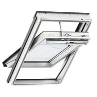 Finestra da tetto (faccia inclinata) VELUX GGU CK02 0068 manuale L 55 x H 78 cm bianco