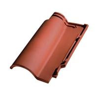 Coppo Portoghese in argilla 41.5 x 25.5 cm rosso