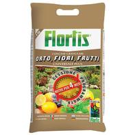 Concime granulare FLORTIS Orto-fiori-frutti Sacco da 4 kg