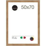 Cornice Maussane rovere per foto da 50 x 70 cm