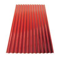 Lastra ondulata TECNOIMAC Ecoltherm in polimglass® 110 x 200 cm, Sp 14 mm rosso