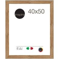 Cornice Maussane rovere per foto da 40x50 cm