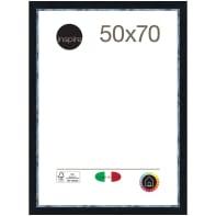 Cornice Maussane nero per foto da 50 x 70 cm