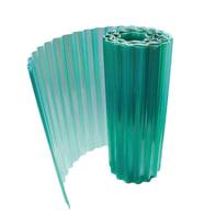 Rotolo ONDULINE Onduclair Plr Ondulato in poliestere 200 x 500 cm, Sp 1 mm verde
