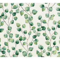 Carta da parati Greenery Leggero verde, 53 cm x 10 m