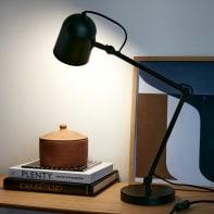 Lampada da scrivania Vintage Forly  nero , in metallo, INSPIRE