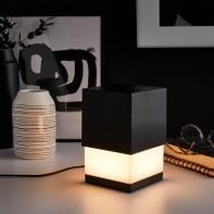 Lampada da tavolo Design Mood nero , in metallo, INSPIRE