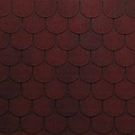 Tegola bituminosa ONDULINE Bardoline Pro in bitume 34 x 100 cm, Sp 3.4 mm rosso