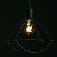 Lampadina LED, E27, Goccia, Ambra, Luce calda, 6W=400LM (equiv 35 W), 360° , LEXMAN