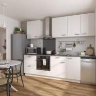 Cucina in kit  Sofia bianco L 270 cm
