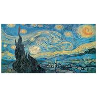 Quadro su tela Van Gogh La Notte Stellata 145x75 cm