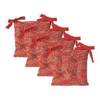 Cuscino per sedia XMAS rosso 40x40 cm