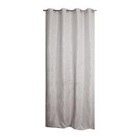 Tenda Pyma grigio chiaro occhielli 135 x 280 cm