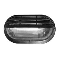 Applique Cesena in plastica, nero, E27 MAX60W IP44