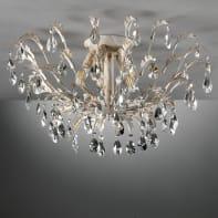 Plafoniera CESTA bianco, in metallo, 5  luci