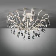 Plafoniera CESTA bianco, in metallo, 3  luci