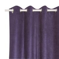 Tenda INSPIRE New Manchester viola occhielli 140 x 280 cm