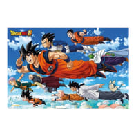 Poster Poster 61x91,5 Dragon Ball Super Flying 61x91.5 cm