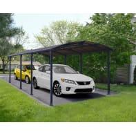 Carport in alluminio Arcadia L 359  x P 359  x H 242