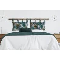Cuscino testata letto ECOLIBO' verde 45x70 cm