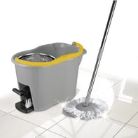 Kit pulizia pavimenti APEX Espresso Inox Plus in plastica