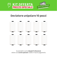 Kit Deviatore BTICINO Kit 10 pz unipolare , 10 pezzi