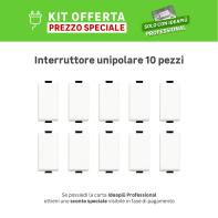 Kit Interruttore BTICINO Kit 10 pz unipolare , 10 pezzi