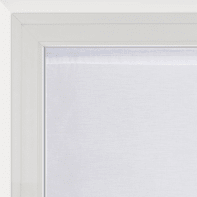 Tendina vetro Shali bianco tunnel 60 x 240 cm