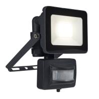 Proiettore LED integrato con sensore di movimento Yonkers in alluminio, antracite, 10W 650LM IP44 INSPIRE