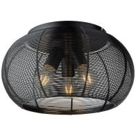 Plafoniera Sambo 3xE27 DE nero, in metallo,  D. 40 cm 3  luci BRILLIANT