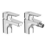 Set rubinetti ceraplan iii Cromato