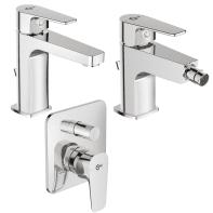 Set rubinetti esla Cromato
