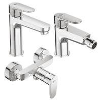 Set rubinetti tyria Cromato
