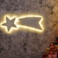 Stella luminosa H 35 cm