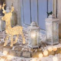 Renna 100 lampadine bianco caldo