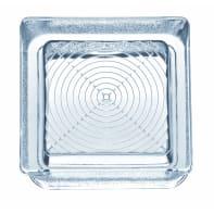Vetromattone Pedonabile trasparente lucido H 14.5 x L 14.5 x Sp 5.5 cm