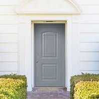 Portoncino d'ingresso Classic3 grigio L 90 x H 210 cm destra