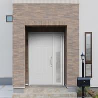 Portoncino d'ingresso Classic4 bianco L 132 x H 210 cm sinistra